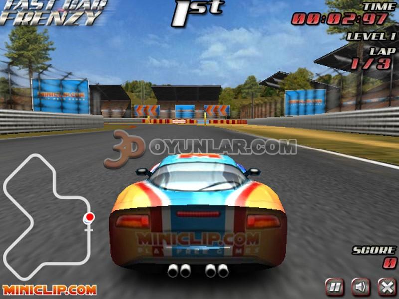 3d çılgın yarış oyunu resimleri