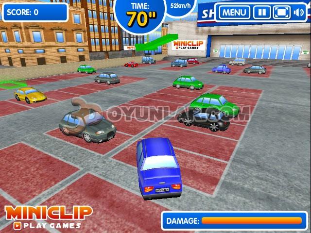3d araba park etme oyunu | 3d park etme oyunu oyna | 3d oyunlar