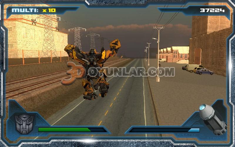 3d transformers oyunu resimleri