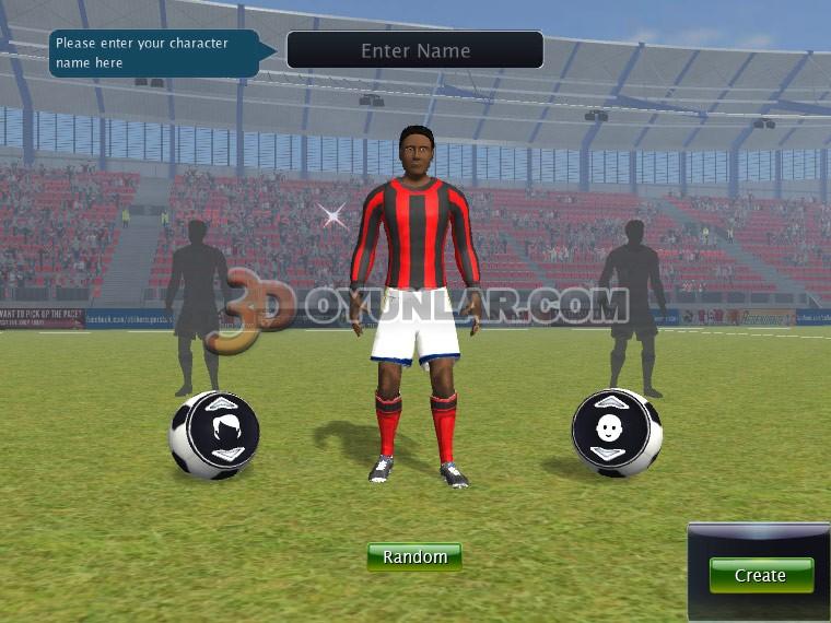 3d süper futbolcu oyunu resimleri