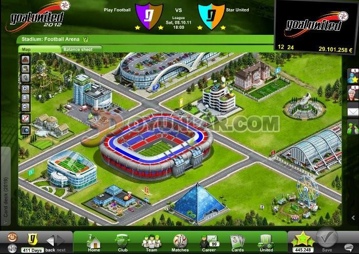 3D Goal United Online Oyunu İndir