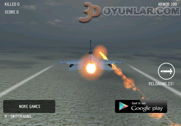Bombardıman savaş uçağı oyunu resimleri