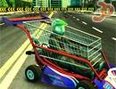 3D Market Arabası Yarışı
