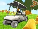 3D Golf Arabası Park Et