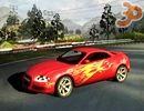 3D Kırmızı Araba