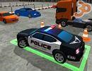 3D Polis Arabası Park Et