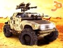 3D Silahlı Araba