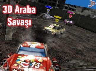 3D Araba Savaşı