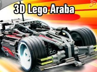 3D Lego Araba