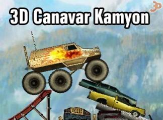 3D Canavar Kamyon