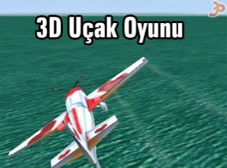 3D Uçak Oyunu