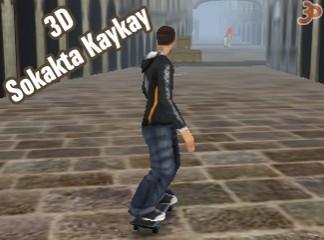 3D Sokakta Kaykay