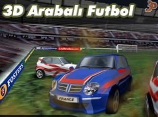 3D Oyunlar Arabalı Futbol Oyunu