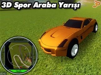 3D Spor Araba Yarışı