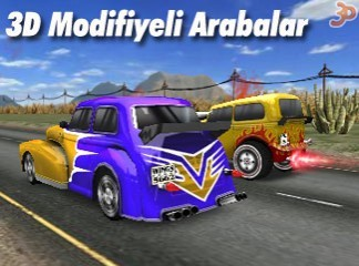 3D Modifiyeli Arabalar