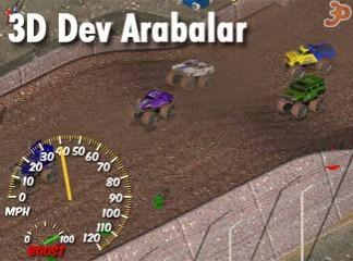 3D Dev Arabalar