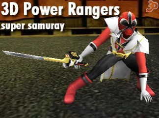 3D Power Rangers
