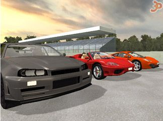 3D Araba Dünyası
