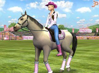 3D Atlı Güzel
