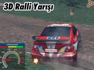 3D ralli yarışı oyunu
