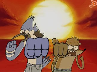 Regular Show Macerası